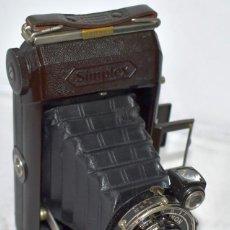 Cámara de fotos: CALIDAD Y RAREZA..ZEISS IKON SIMPLEX 511/2+FUNDA..ALEMANIA 1928..BAQUELITA.MUY BUEN ESTADO..FUNCIONA. Lote 238835515
