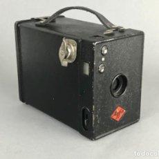 Fotocamere: ANTIGUA CÁMARA DE FOTOS DE CAJA -AGFA BOX- PRIN. SG XX. BUEN ESTADO. Lote 239696985