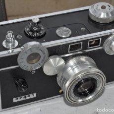 Cámara de fotos: TELEMETRICA .USA 1940..ARGUS C3 + MEDIA FUNDA.THE BRICK..LA DE HARRY POTTER.FUNCIONA.MUY BUEN ESTADO. Lote 239797380