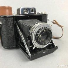 Fotocamere: POCO VISTA CÁMARA DE FUELLE -AGIFOLD- AGILUX I . CIRCA 1948 MUY BUEN ESTADO CON FUNDA. Lote 239896735