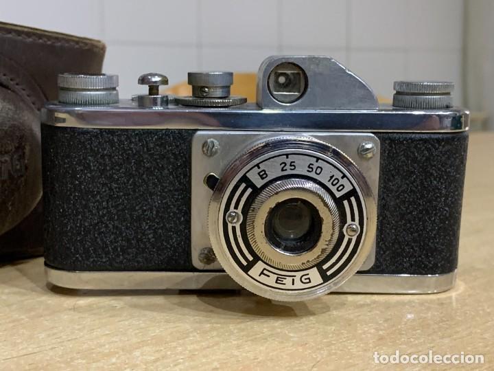 FEIG FABRICADA EN ESPAÑA (Cámaras Fotográficas - Antiguas (hasta 1950))