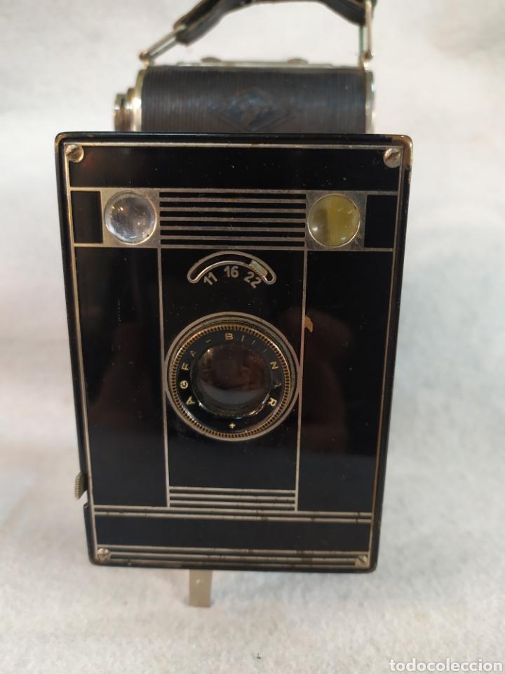 Cámara de fotos: Antigua cámara de fotos fuelle, Agfa Billy - Black. Años 30 - Foto 2 - 243577840