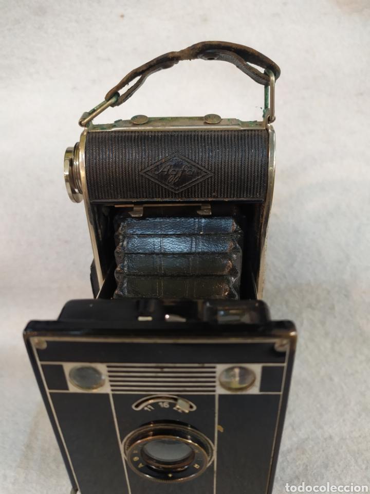 Cámara de fotos: Antigua cámara de fotos fuelle, Agfa Billy - Black. Años 30 - Foto 3 - 243577840