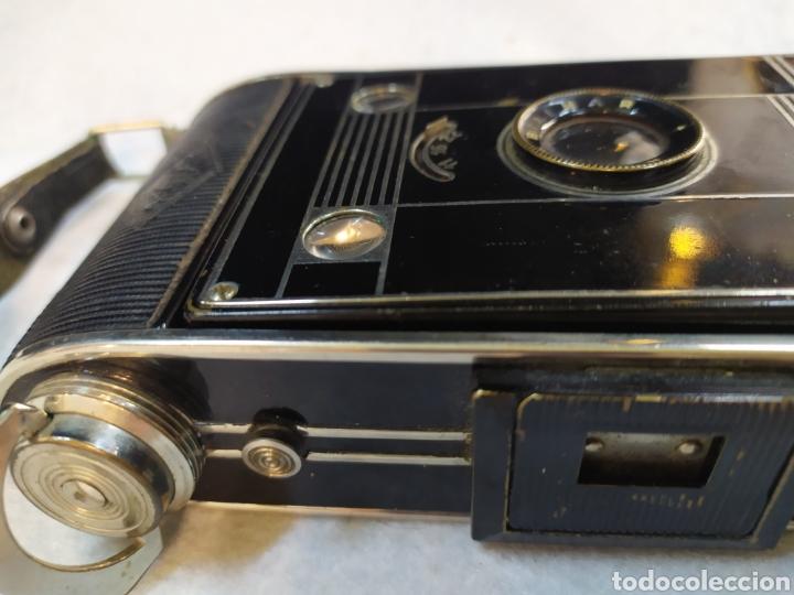 Cámara de fotos: Antigua cámara de fotos fuelle, Agfa Billy - Black. Años 30 - Foto 12 - 243577840