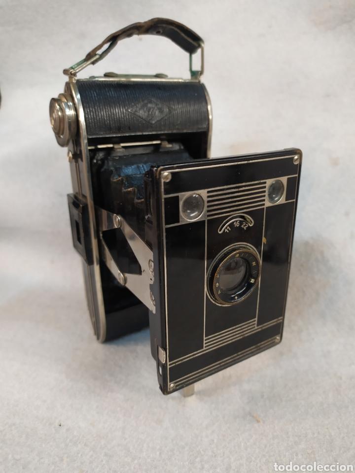 ANTIGUA CÁMARA DE FOTOS FUELLE, AGFA BILLY - BLACK. AÑOS '30 (Cámaras Fotográficas - Antiguas (hasta 1950))
