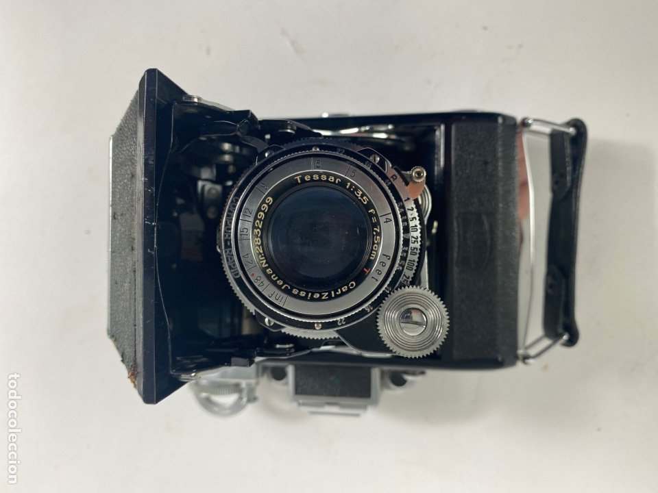 CAMARA FOTOGRAFICA ZEISS IKON. SUPER IKONTA 531. (Cámaras Fotográficas - Antiguas (hasta 1950))