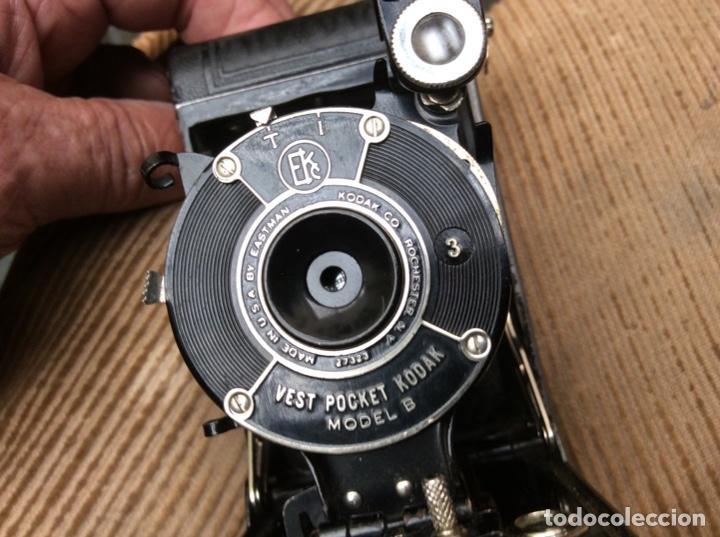 CAMARA FOTOGRAFÍA. VEST POCKET KODAK. USA EASTMAN. USE FILM A127 (Cámaras Fotográficas - Antiguas (hasta 1950))
