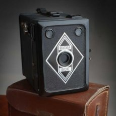 Cámara de fotos: ANTIGUA CÁMARA DE FOTO BILORA BOX 1945. Lote 247213585