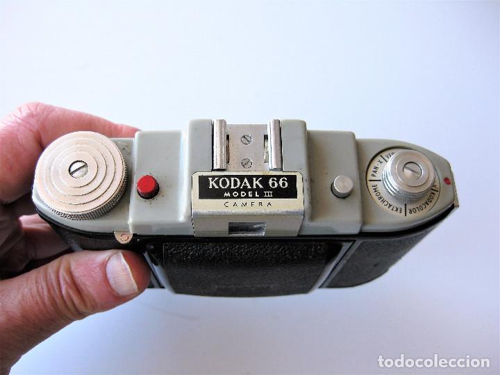 Cámara de fotos: CAMARA DE FUELLE KODAK 66 MODELO III, NUMERADA, MADE IN ENGLAND - Foto 6 - 248073710