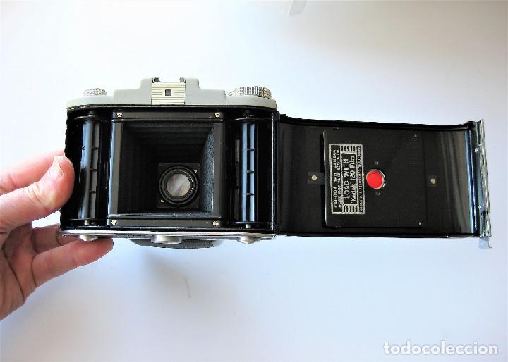 Cámara de fotos: CAMARA DE FUELLE KODAK 66 MODELO III, NUMERADA, MADE IN ENGLAND - Foto 9 - 248073710