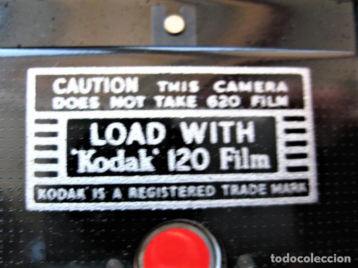 Cámara de fotos: CAMARA DE FUELLE KODAK 66 MODELO III, NUMERADA, MADE IN ENGLAND - Foto 11 - 248073710