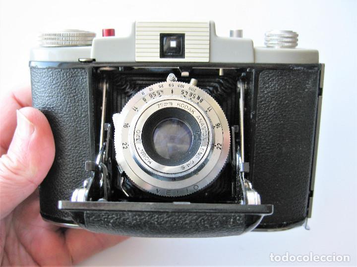 Cámara de fotos: CAMARA DE FUELLE KODAK 66 MODELO III, NUMERADA, MADE IN ENGLAND - Foto 4 - 248073710