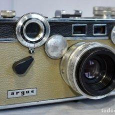 Cámara de fotos: TELEMETRICA 35 MM..LA DE HARRY POTTER..ARGUS C 3 MATCH MATIC.USA 1958..MUY BUEN ESTADO.FUNCIONA. Lote 248794945