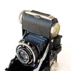 Cámara de fotos: *C1948* • BALDA WERK BALDINI (ENNA) BALDANAR F3.5 • FOLDING 35MM CON GAUTHIER PRONTOR-S. Lote 251084170