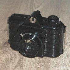Cámara de fotos: CAMARA DE FOTOS UNIVEX DE BAQUELITA CON FUNDA - AÑOS 40. Lote 252919970