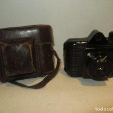 Cámara de fotos: ANTIGUA CAMARA FOTOS BAQUELITA MARCA UNIVEX EN BUEN ESTADO,REGALADA. Lote 252945295