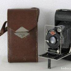 Cámara de fotos: CÁMARA AGFA STANDARD ANASTIGMAT ROLL FILM B2 FH 720. CON FUNDA ORIGINAL C.1930. Lote 254951970