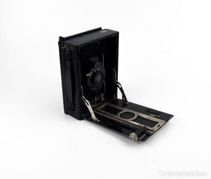 Cámara de fotos: Cámara fotográfica de fuelle - plegable, de campo, de viaje - Foto 3 - 259008455