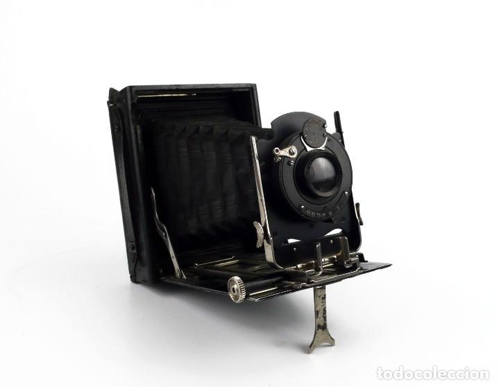 Cámara de fotos: Cámara fotográfica de fuelle - plegable, de campo, de viaje - Foto 4 - 259008455