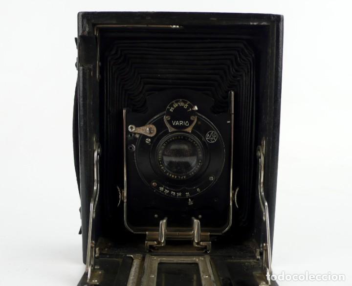 Cámara de fotos: Cámara fotográfica de fuelle - plegable, de campo, de viaje - Foto 9 - 259008455