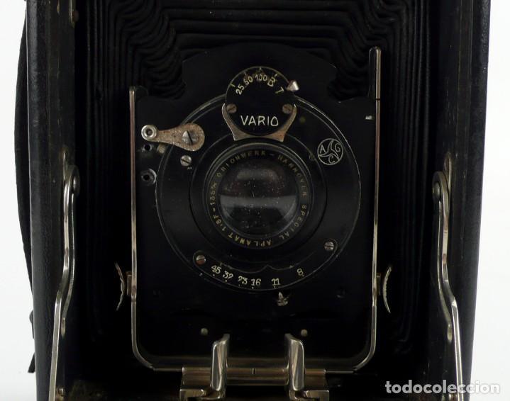 Cámara de fotos: Cámara fotográfica de fuelle - plegable, de campo, de viaje - Foto 10 - 259008455