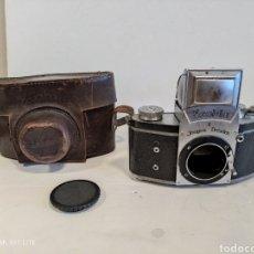 Fotocamere: CUERPO DE CÁMARA EXAKTA II.AÑO 1949.CON FUNDA.OFERTA. Lote 260772165