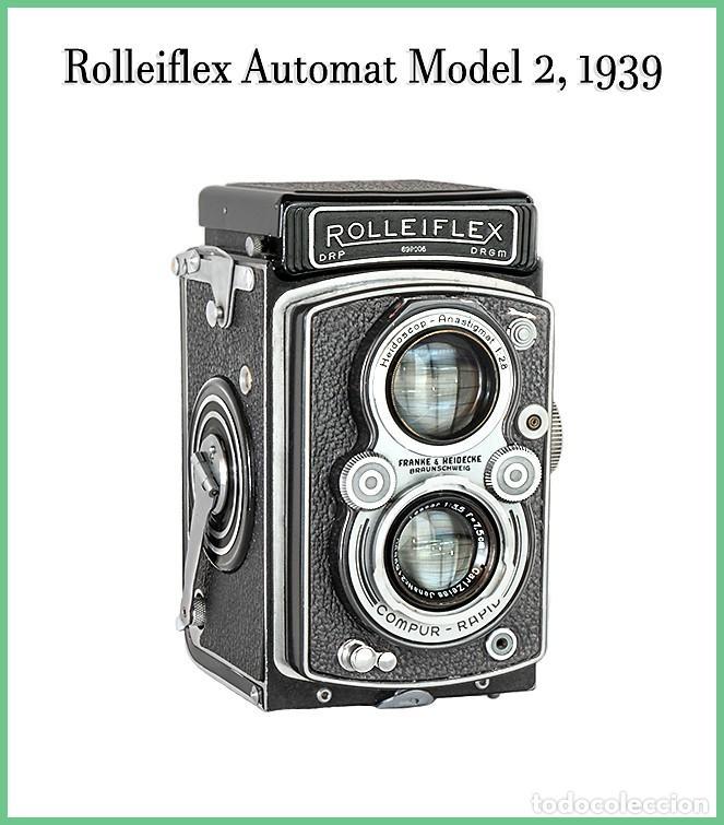 ROLLEIFLEX AUTOMAT MODEL II. EXCELENTE CAMARA ALEMANA DE 1939. EXCELENTE ESTADO. (Cámaras Fotográficas - Antiguas (hasta 1950))