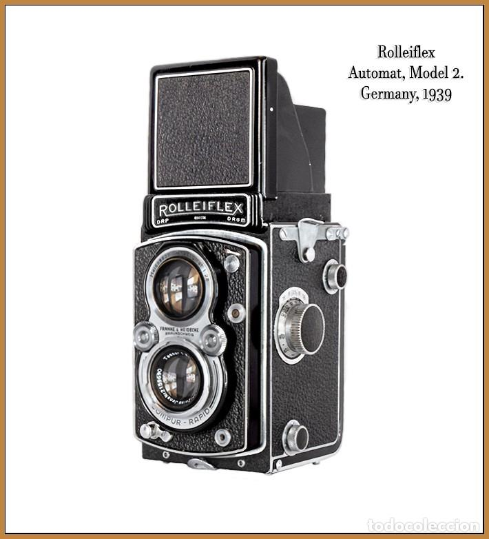 Cámara de fotos: ROLLEIFLEX AUTOMAT MODEL II. EXCELENTE CAMARA ALEMANA DE 1939. EXCELENTE ESTADO. - Foto 2 - 260865765