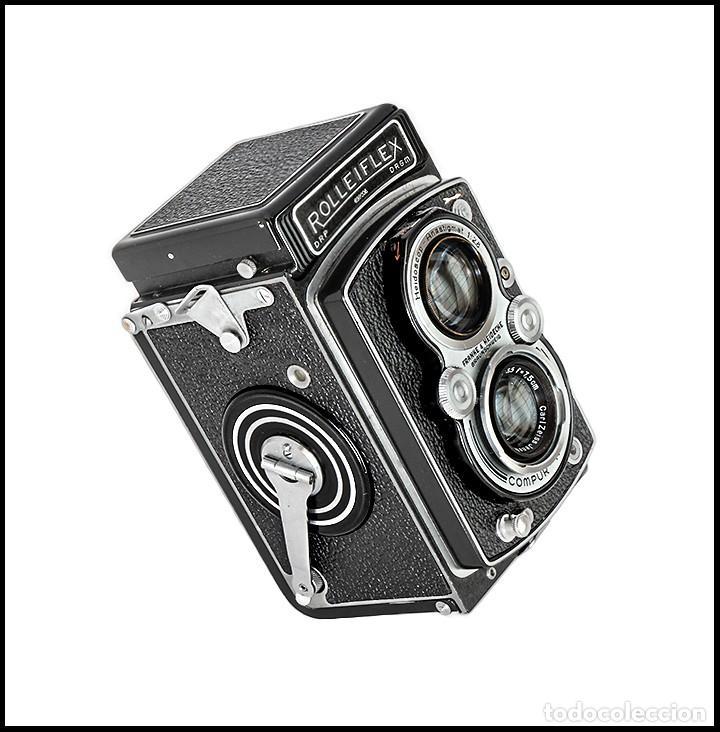 Cámara de fotos: ROLLEIFLEX AUTOMAT MODEL II. EXCELENTE CAMARA ALEMANA DE 1939. EXCELENTE ESTADO. - Foto 3 - 260865765
