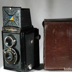 Cámara de fotos: CÁMARA VOIGTLÄNDER BRILLANT 6X6. Lote 263051880