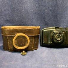 Cámara de fotos: CAMARA FOTOS BAQUELITA OBJETIVO COTTET N 10155 PRENSPLASTIC ESPAÑA 12X17CMS. Lote 263061875