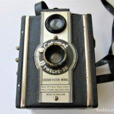 Cámara de fotos: CÁMARA DE FOTOS RARA, CORONET TWELVE 20. AÑO 1950. BUEN ESTADO, DISPÀRADOR PRACTICABLE. Lote 265493739