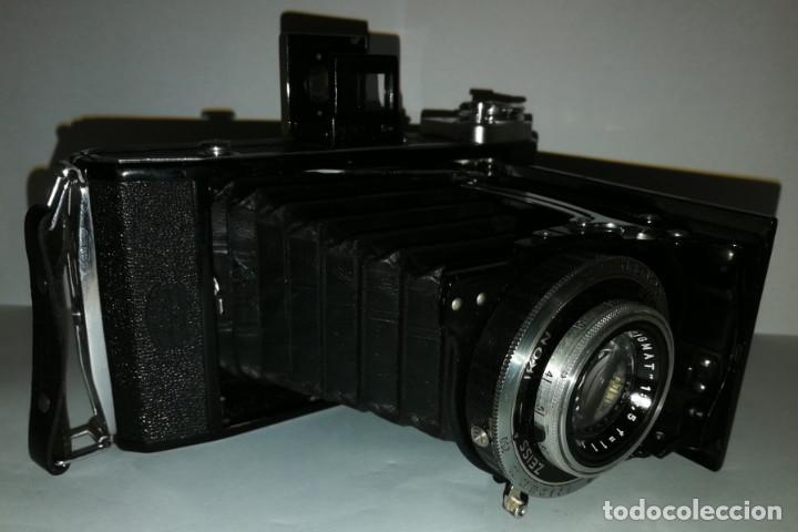 Cámara de fotos: CAMARA DE FUELLE 6X9 ZEISS IKONTA MODELO 521/2 CON ESTUCHE EN FUNCIONAMIENTO - Foto 10 - 265563959