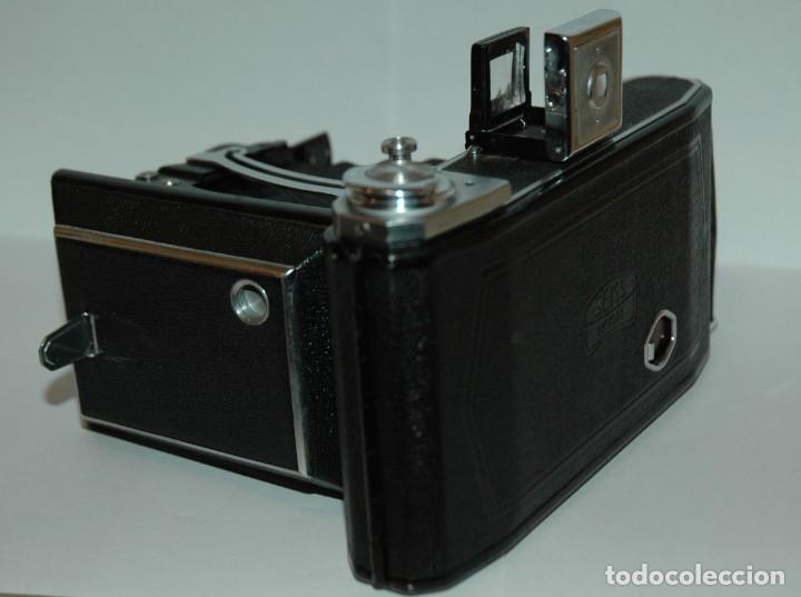 Cámara de fotos: CAMARA DE FUELLE 6X9 ZEISS IKONTA MODELO 521/2 CON ESTUCHE EN FUNCIONAMIENTO - Foto 12 - 265563959