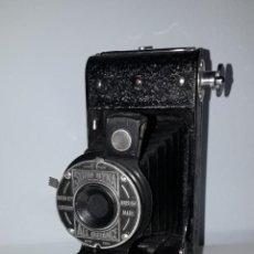 Cámara de fotos: CÁMARA DE FUELLE: SOHO MYNA ALL DISTANCE, FABRICADO EN INGLATERRA 1934. Lote 265797669