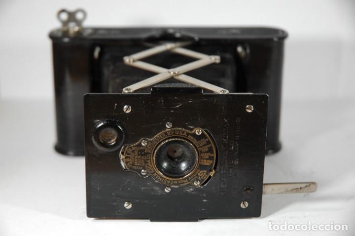 Cámara de fotos: CAMARA DE FUELLE 4,5X6 KODAK VEST POCKET - Foto 7 - 267114409