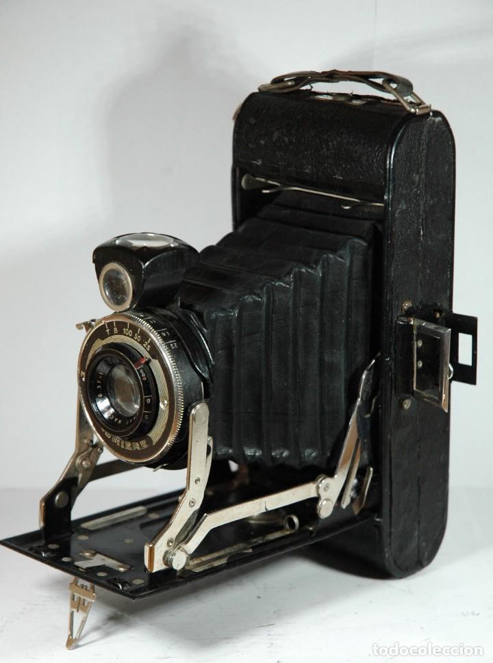 CAMARA DE FUELLE 6X9 LUMIERE EN FUNCIONAMIENTO (Cámaras Fotográficas - Antiguas (hasta 1950))