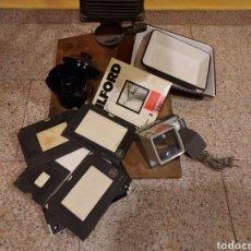 Cámara de fotos: ANTIGUA AMPLIADORA DE FOTOGRAFÍA, CO TODOS SUS ACCESORIOS. Lote 268910129