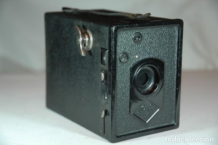 CAMARA BOX 6X9 AGFA 50 EN FUNCIONAMIENTO (Cámaras Fotográficas - Antiguas (hasta 1950))