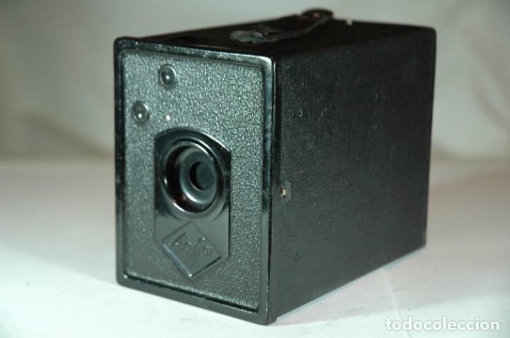 Cámara de fotos: CAMARA BOX 6X9 AGFA 50 EN FUNCIONAMIENTO - Foto 3 - 270002458