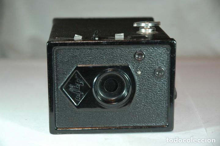 Cámara de fotos: CAMARA BOX 6X9 AGFA 50 EN FUNCIONAMIENTO - Foto 5 - 270002458
