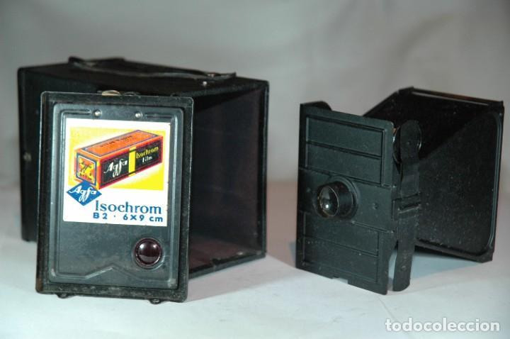 Cámara de fotos: CAMARA BOX 6X9 AGFA 50 EN FUNCIONAMIENTO - Foto 6 - 270002458