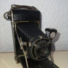 Cámara de fotos: CORONET ANTIGUA CAMARA DE FUELLE. Lote 274384703