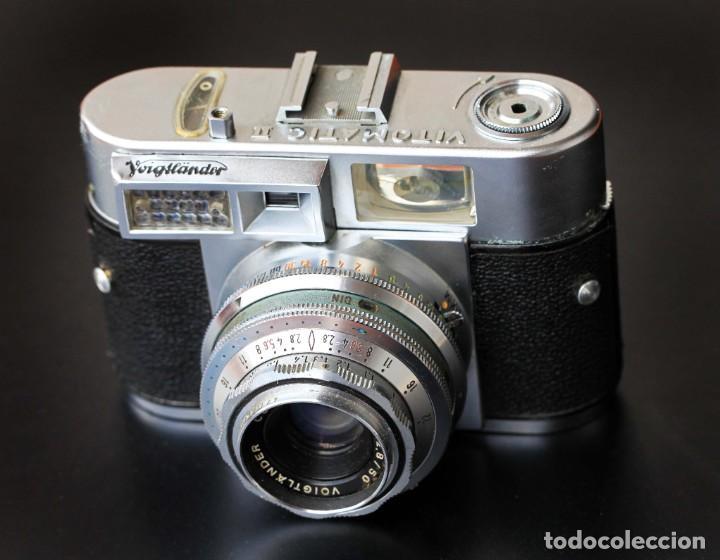 VOIGTLANDER VITOMATIC 2 (Cámaras Fotográficas - Antiguas (hasta 1950))