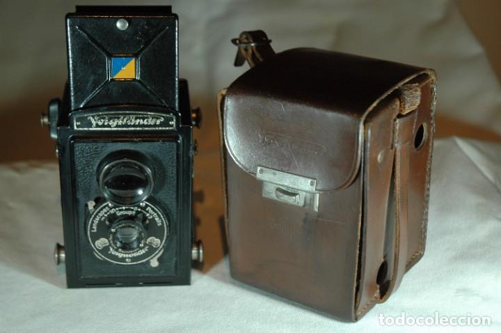 CAMARA DE 6X6 REFLEX VOIGTLANDER BRILLANT CON ESTUCHE EN FUNCIONAMIENTO (Cámaras Fotográficas - Antiguas (hasta 1950))