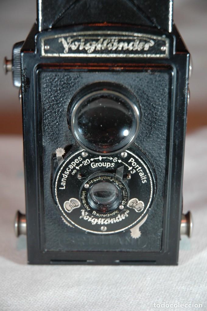 Cámara de fotos: CAMARA DE 6X6 REFLEX VOIGTLANDER BRILLANT CON ESTUCHE EN FUNCIONAMIENTO - Foto 3 - 276391633