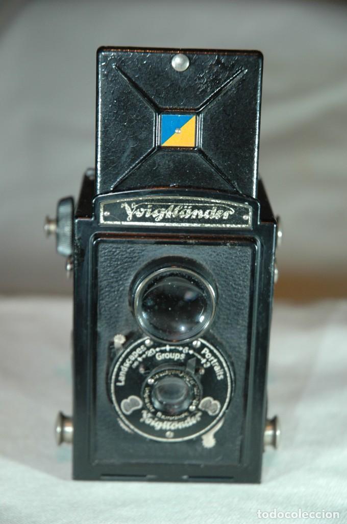 Cámara de fotos: CAMARA DE 6X6 REFLEX VOIGTLANDER BRILLANT CON ESTUCHE EN FUNCIONAMIENTO - Foto 4 - 276391633