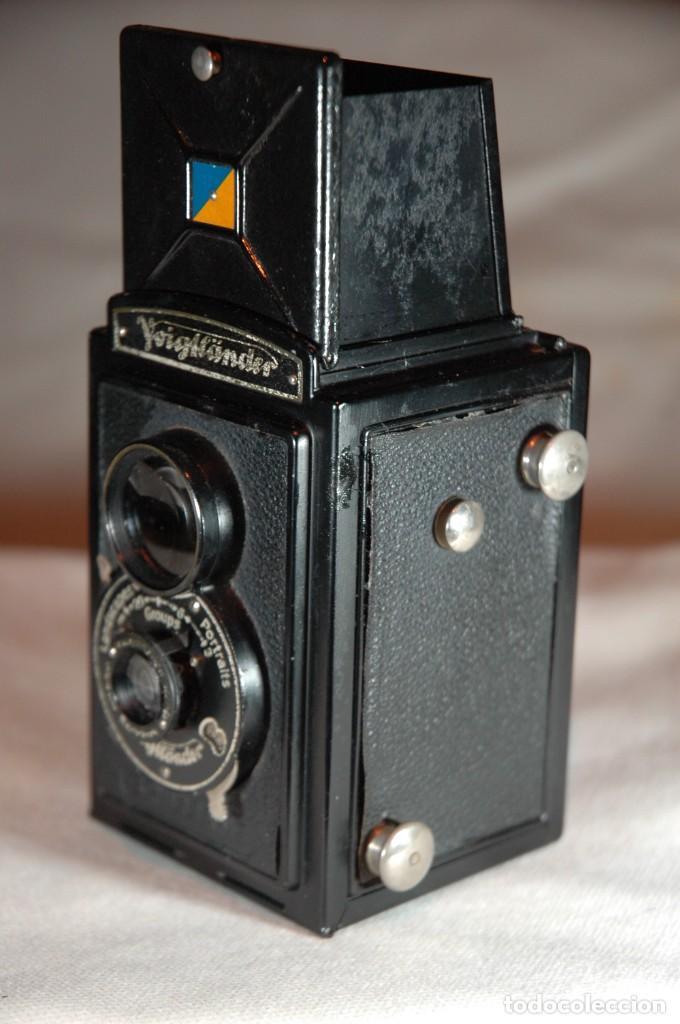 Cámara de fotos: CAMARA DE 6X6 REFLEX VOIGTLANDER BRILLANT CON ESTUCHE EN FUNCIONAMIENTO - Foto 5 - 276391633