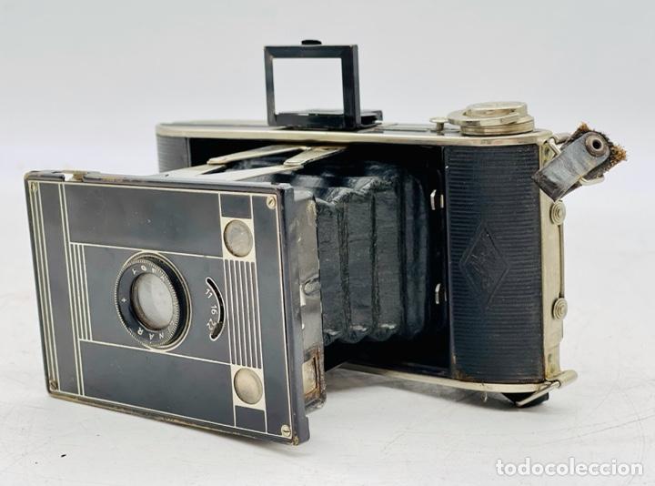 CÁMARA FOTOGRÁFICA ANTIGUA (Cámaras Fotográficas - Antiguas (hasta 1950))