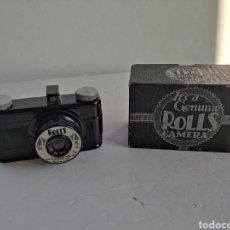 Appareil photos: RAREZA EN BAQUELITA .ROLLS MADE IN USA ,AÑO 1939.FUNCIONA. Lote 278270113